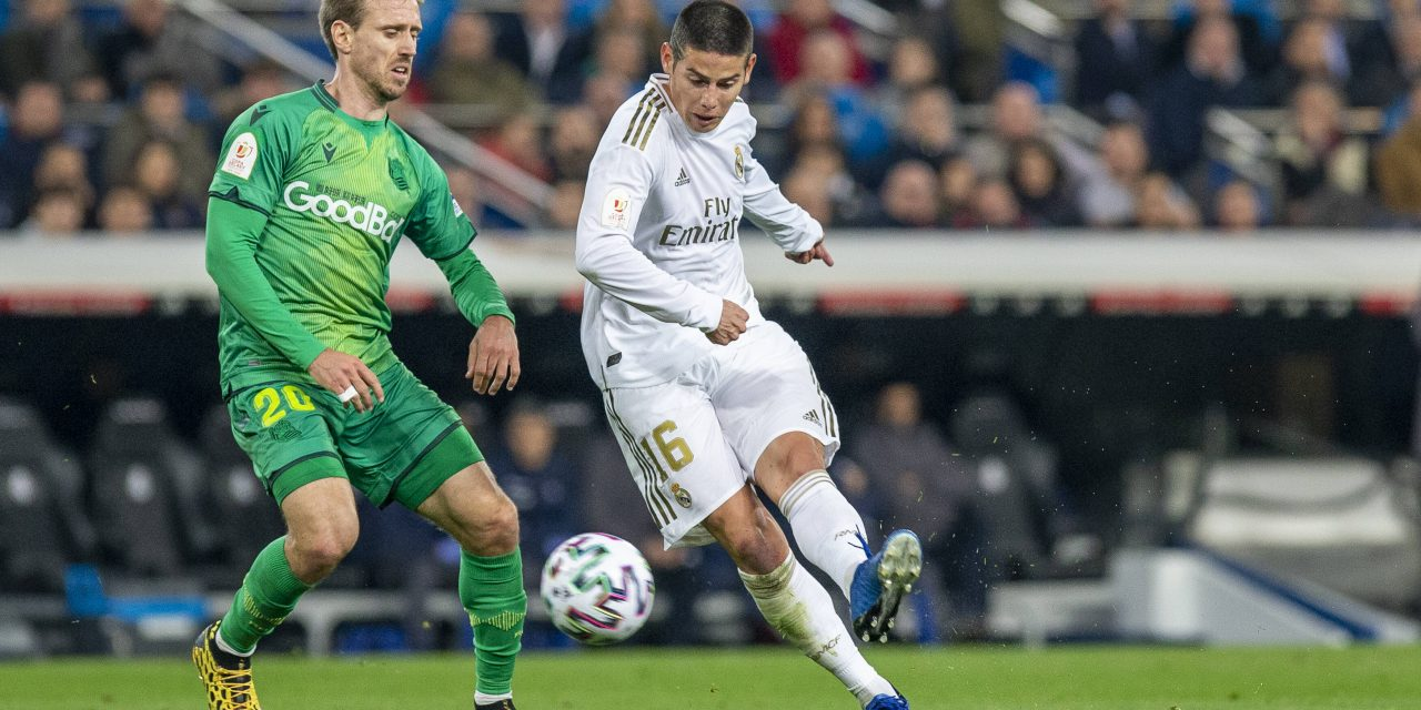 James Rodríguez​ sits out Real Madrid training as move to Everton edges closer