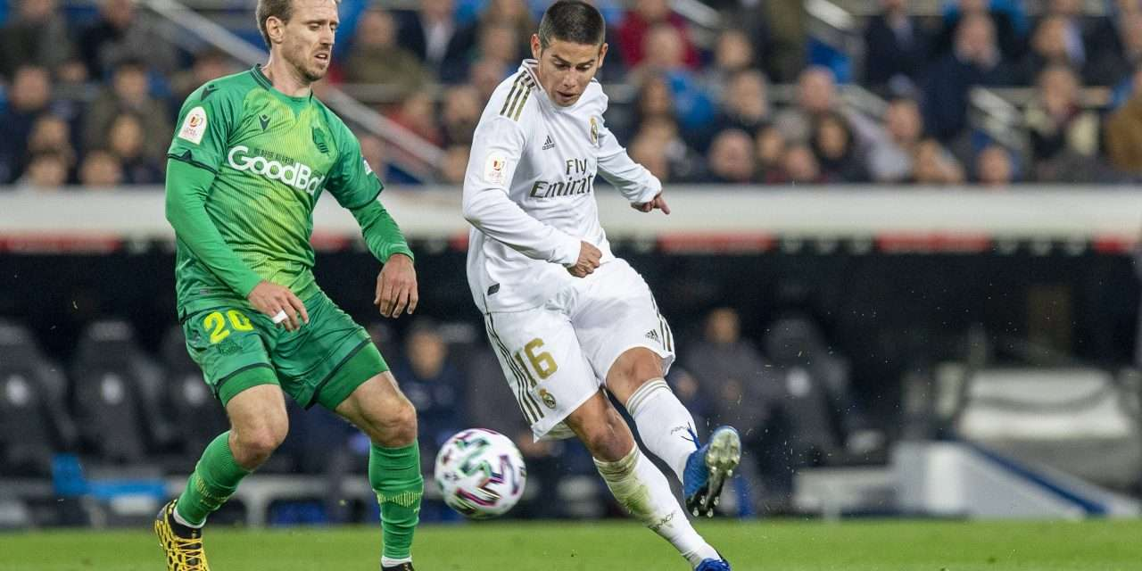 James Rodríguez sits out Real Madrid training as move to Everton edges closer