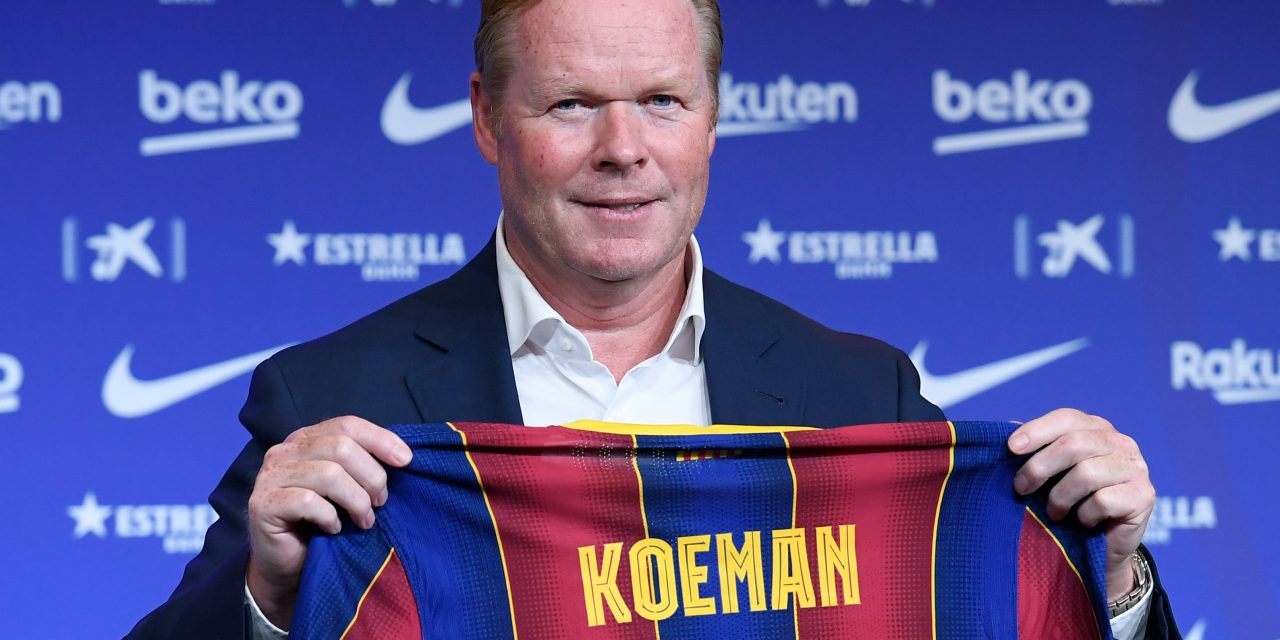"""Ronald Koeman: """"Of course Messi is disappointed, I would be too if I lost 8-2."""""""