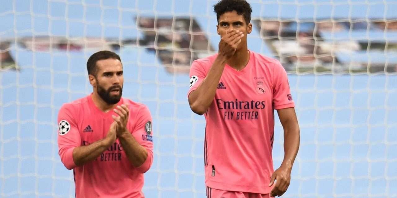 Raphaël Varane accepts responsibility for Manchester City defeat