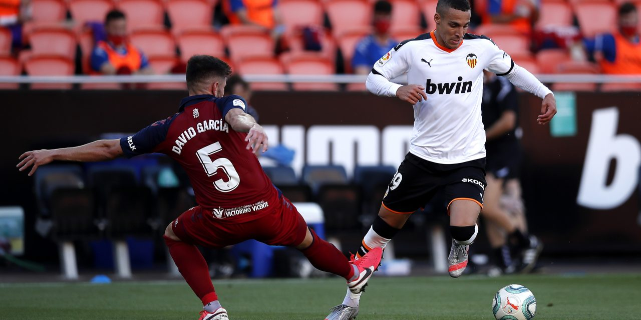 Leeds United interested in Valencia striker Rodrigo Moreno