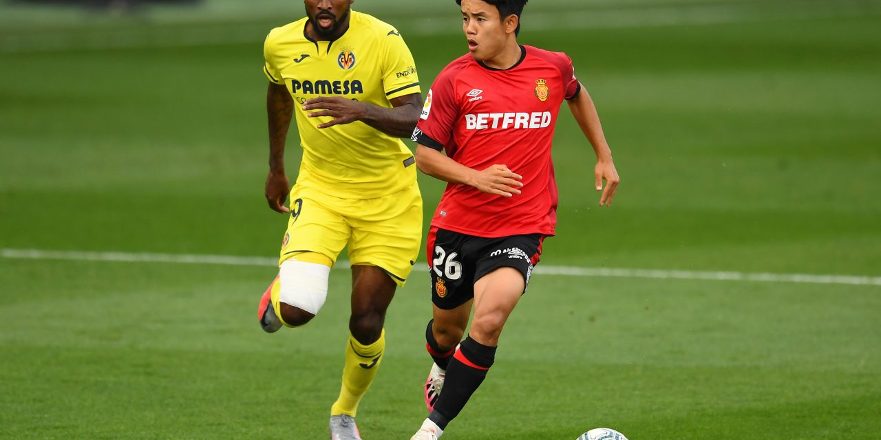 Villarreal win race to sign Takefusa Kubo on loan from Real Madrid