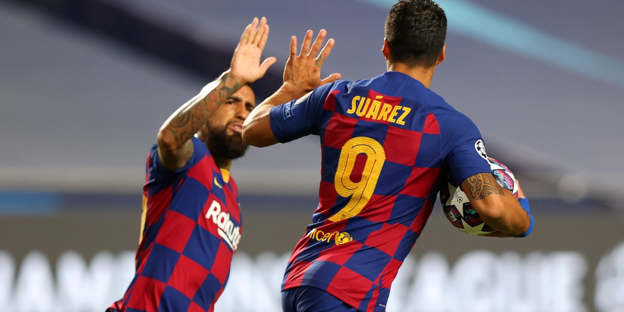 Luis Suárez & Arturo Vidal set to leave Barcelona for Serie A