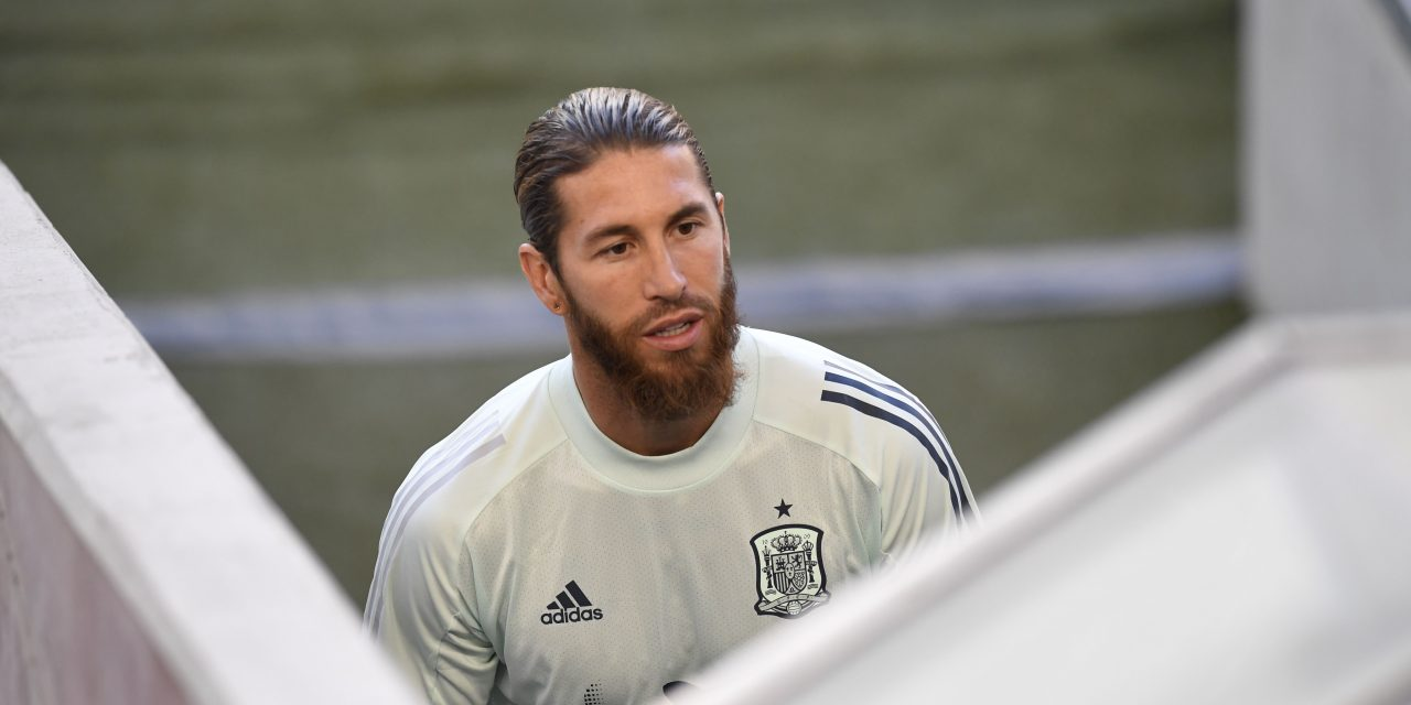 """Sergio Ramos: """"For Spanish football, for Barça and for us, we'd like Messi to stay."""""""