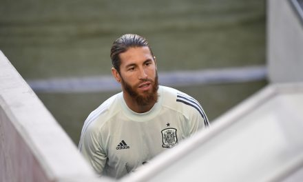 "Sergio Ramos: ""For Spanish football, for Barça and for us, we'd like Messi to stay."""