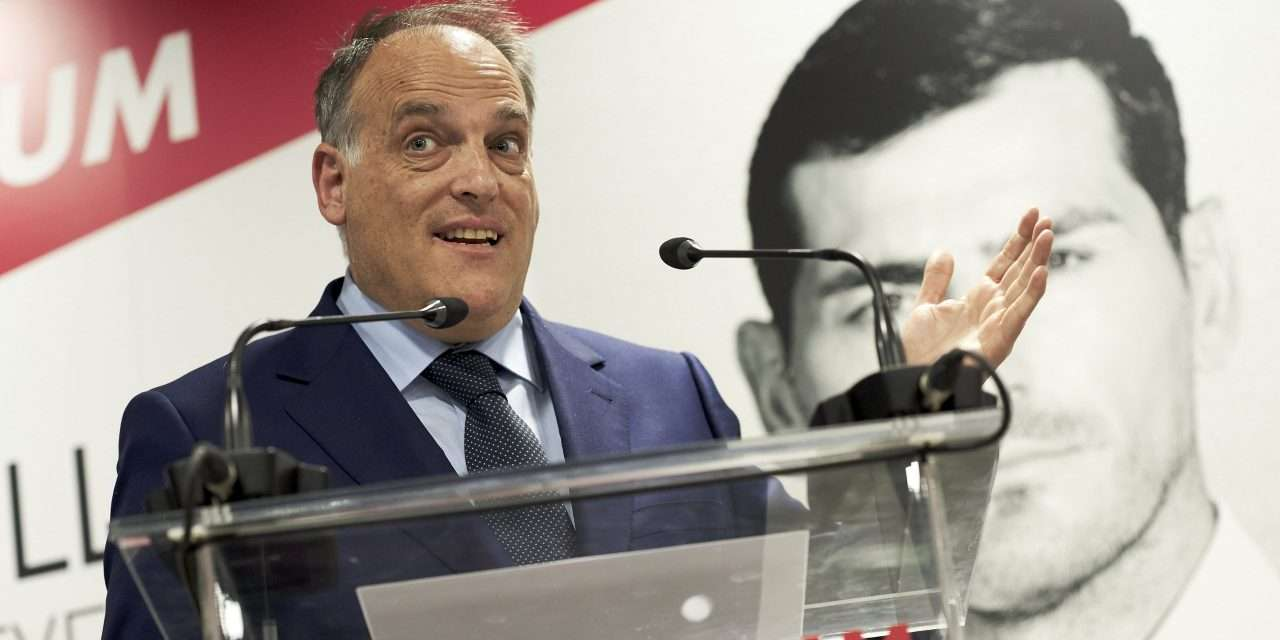 """Javier Tebas on Lionel Messi: """"We were worried, but not seriously worried."""""""