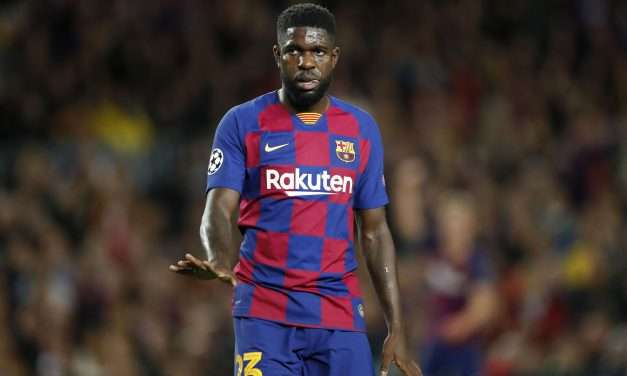 """Barcelona defender Samuel Umtiti: """"There were talks with Lyon."""""""
