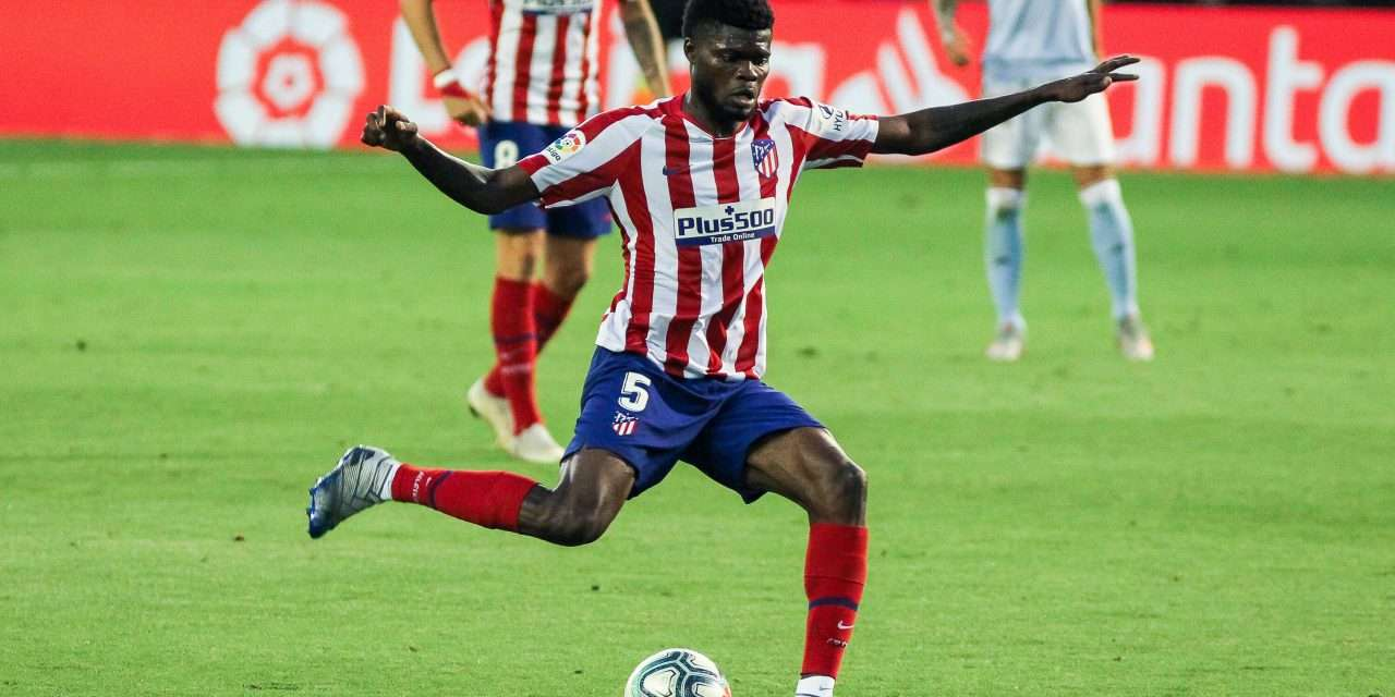 Official   Arsenal complete the signing of Thomas Partey from Atlético Madrid