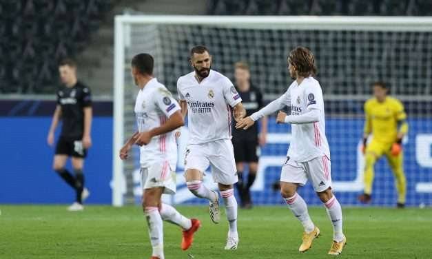 """Karim Benzema to Ferland Mendy: """"Don't play to Vinicius, he is playing against us."""""""