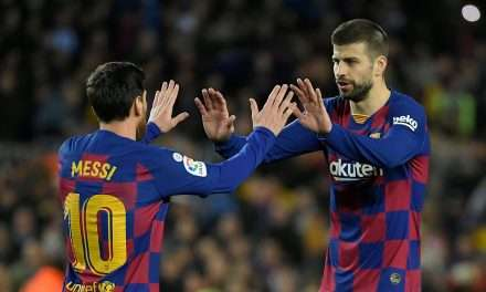 "Gerard Piqué: ""The new Camp Nou should be named after Lionel Messi."""