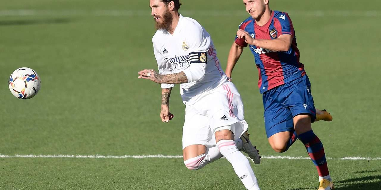 """Zinedine Zidane: """"Sergio Ramos has recovered and he will be with us."""""""