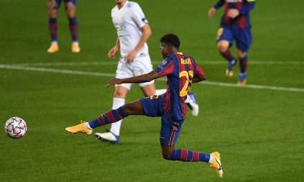 """Ansu Fati: """"We are very happy to have Messi and I continue to learn from him."""""""