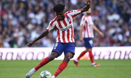 Thomas Partey in London ahead of completing move to Arsenal