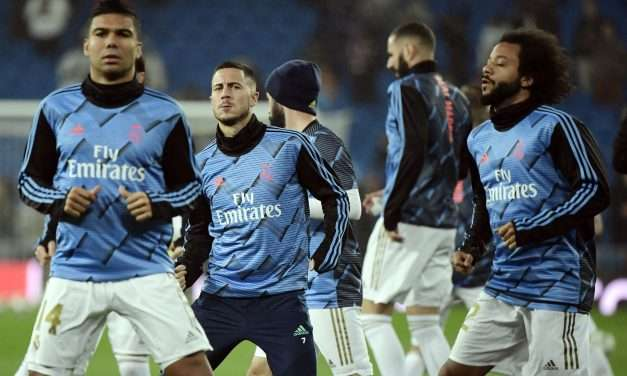 Eden Hazard and Casemiro ruled out of Valencia match after testing positive for Covid-19