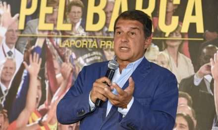 Joan Laporta announces decision to run for president at FC Barcelona