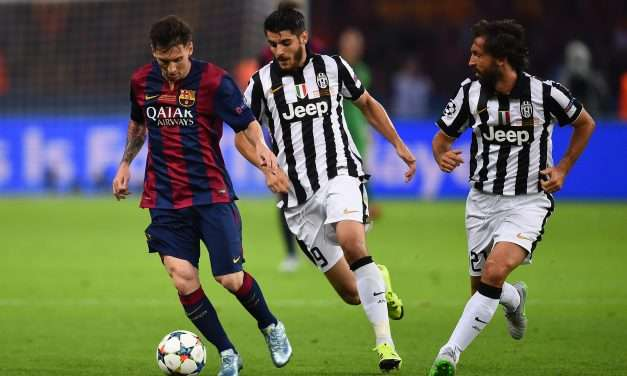 """Andrea Pirlo: """"Álvaro Morata can become one of the best forwards in the world."""""""